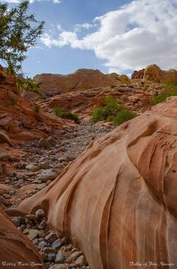 View along the White Domes hike, Valley of Fire, Nevada
