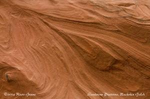 Patterns in the sandstone: Buckskin Gulch