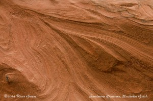 Patterns in the sandstone: Buckskin Gulch