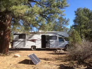 Boondocking near the Grand Canyon