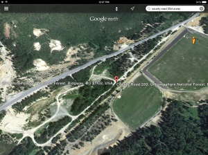 Google Earth Image of Ironton Park