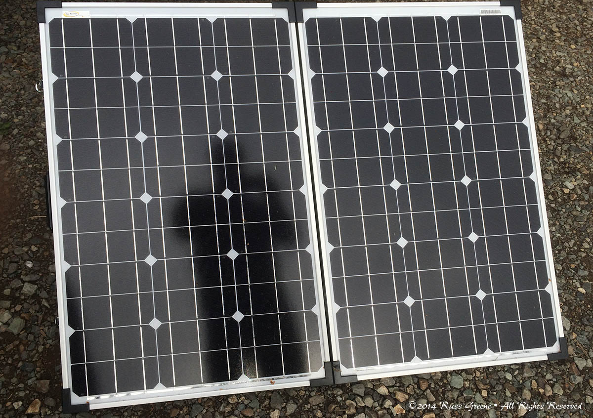 Its 10 Oclock Do You Know Where Your Solar Charge Controller Is Wiring In Cells Might Stop Reflecting Light One Up The Panel Portion Of Gopower Gp Psk 120 Kit