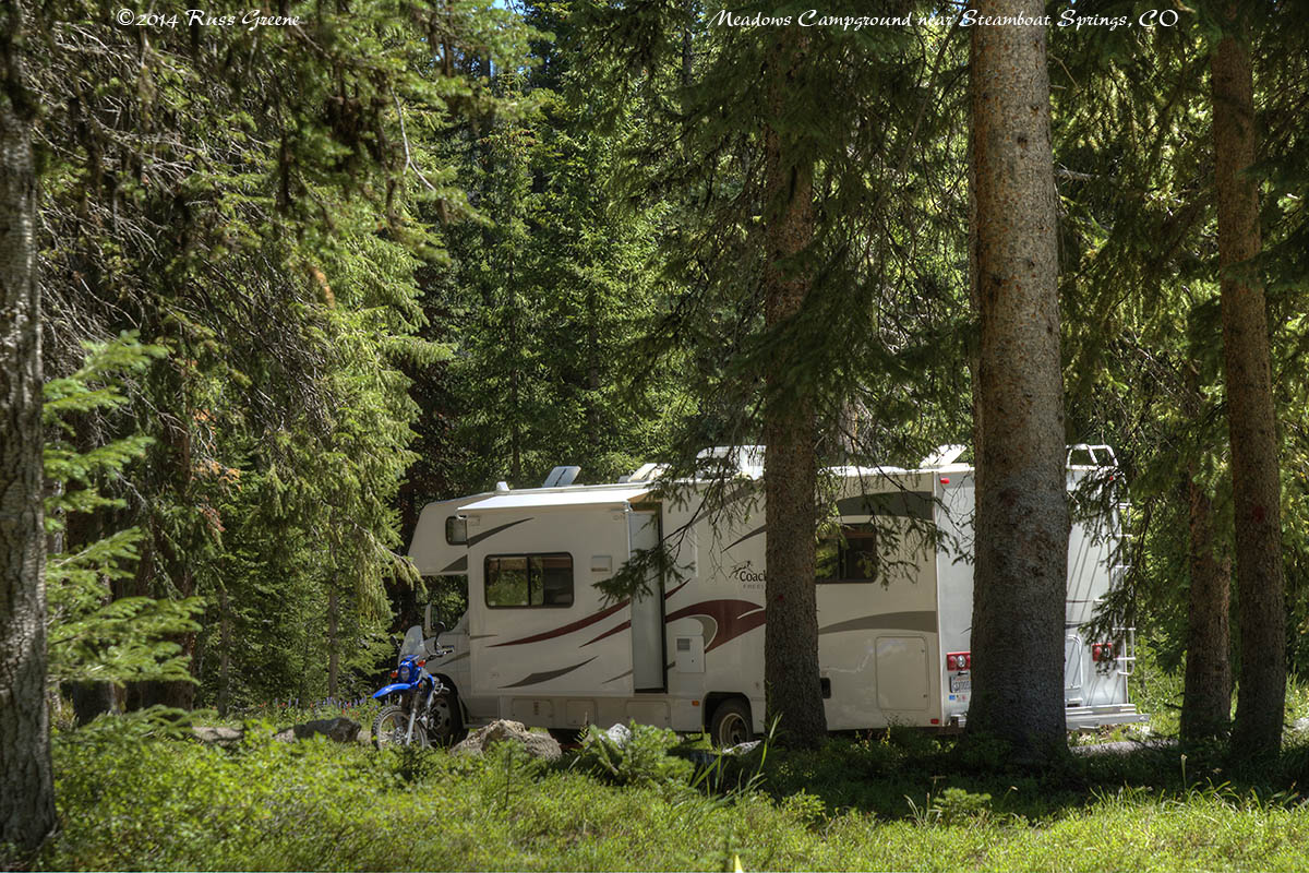 Campground reports russ on the road for Nearby campgrounds with cabins