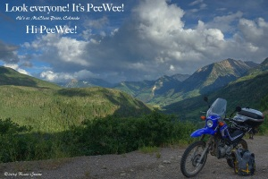 PeeWee at McClure Pass