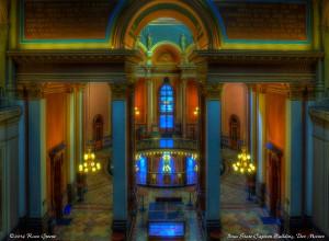 Interior View: Iowa State Capitol Building