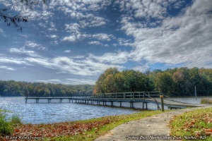 Fishing pier at Natchez State Park, Mississippi