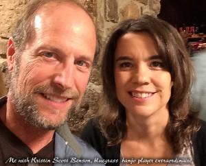 Me with Kristin Scott Benson