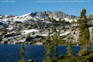 Bonnie Lake and Forsyth Peak