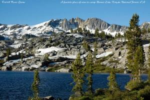 Bonnie Lake and Forsyth Peak