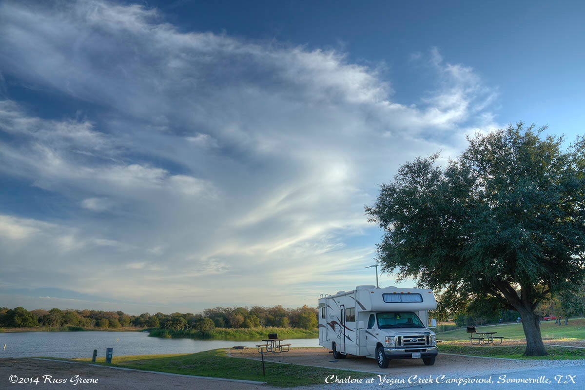 Yegua Creek Campground, Somerville, Texas | Russ on the Road on bosque river map, llano river map, brazos river map, paluxy river map, frio river map, san marcos river map,