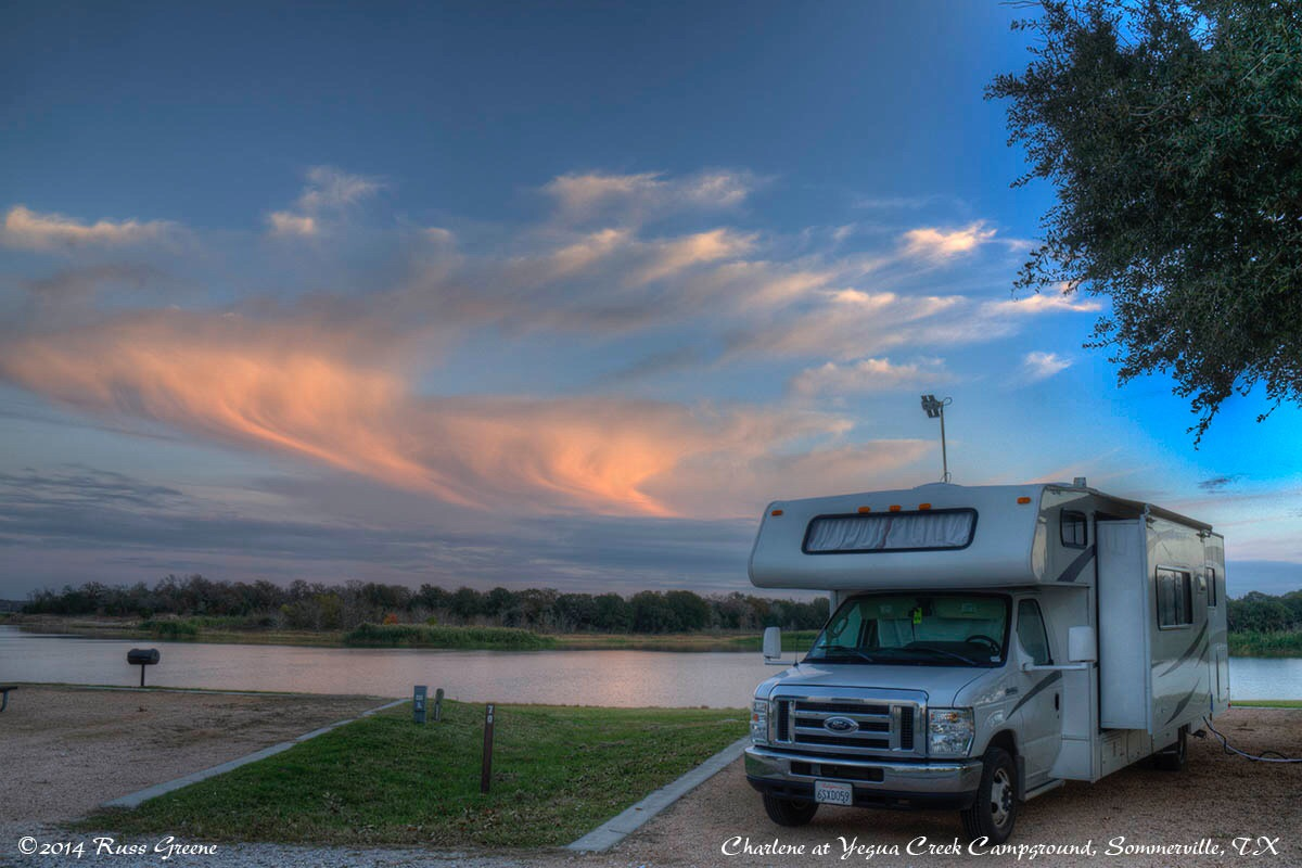 Yegua Creek Campground Somerville Texas Russ On The Road