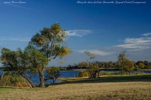 Shoreline, Somerville Lake, Yegua Creek Campground