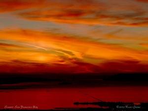 Sunset Mt. Tam