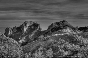 View Along the Lost Mine Trail, Big Bend