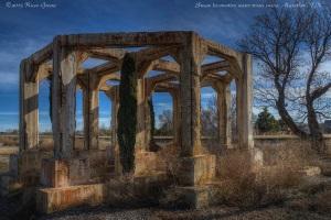 Water Tower Ruins, Marathon TX