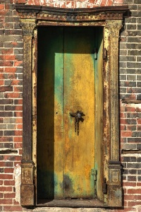 Doorway, Marathon, TX