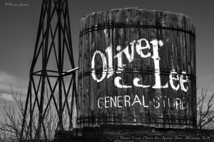 Oliver Lee General Store Water Tower Remains