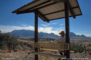 View Toward the Florida Mountains