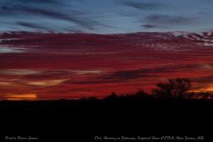 February Sunrise: Imperial Dam LTVA