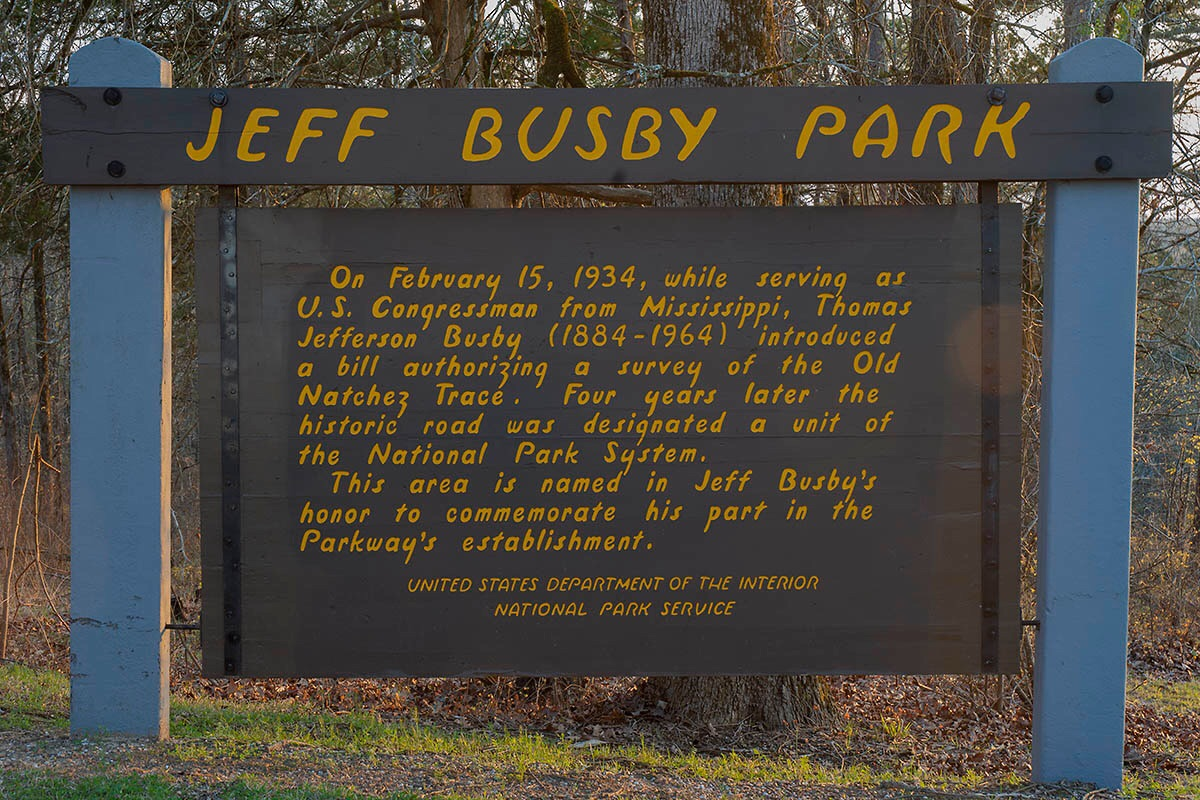 Jeff Busby Campground, Natchez Trace Parkway, Ackerman, MS | Russ on ...