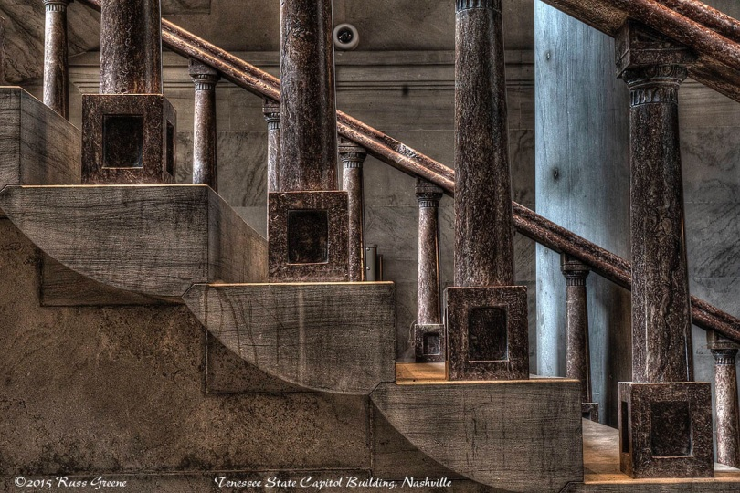 Staircase: Tennessee Capitol Building