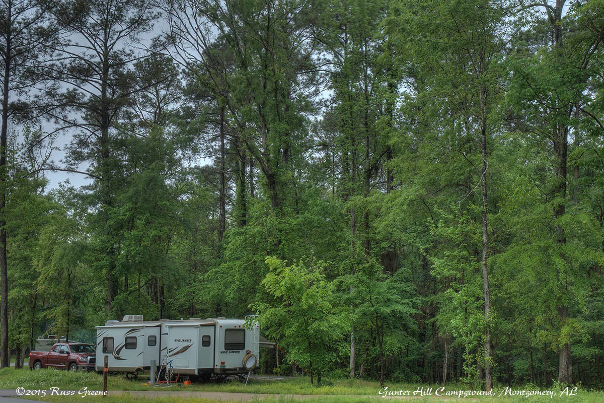 Gunter Hill Campground Montgomery Al Russ On The Road