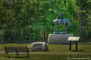 Statue: Andrew Jackson State Park