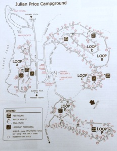 Julian Price Campground Map
