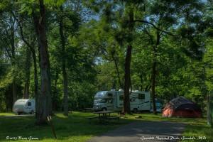Greenbelt National Park Campground, MD