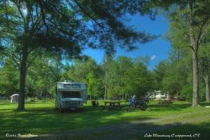 Lake Waramaug State Park Campground, New Preston, CT