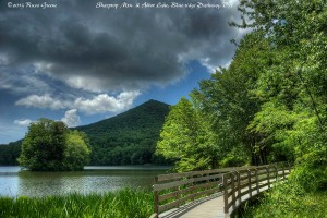 Sharptop Mtn. and Abbot Lake