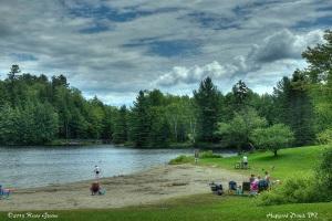 Beach: Hapgood Pond, VT