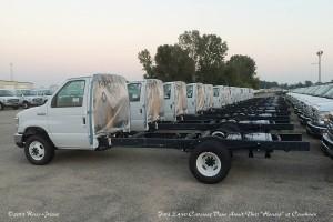 Ford E450 Cutaway Vans