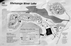 Shenango River Lake Campground Map