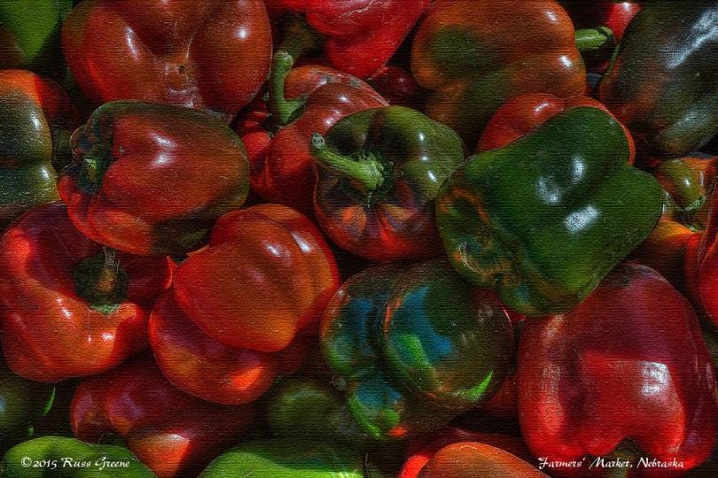 Peppers - Farmers' Market, Nebraska