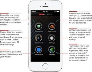 FourStroke OBD-II iPhone App