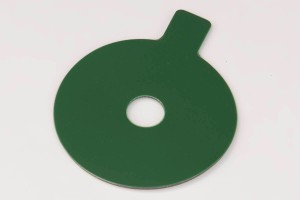 Adhesive disc in the windshield repair disc.
