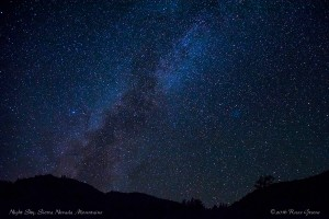 High Sierra Night Sky
