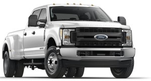 2017 Ford F350 Super Duty, Dual Rear Wheel