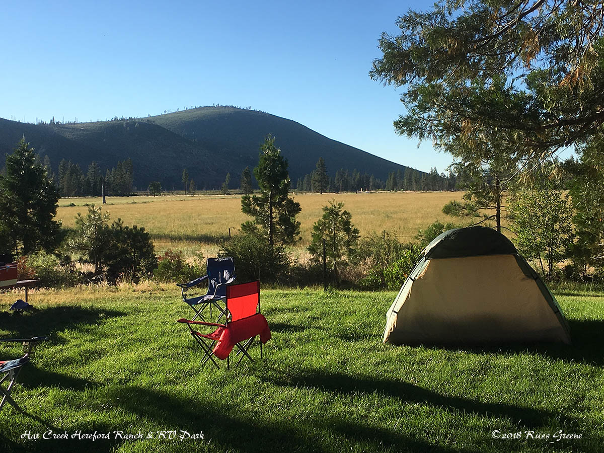 Hat Creek Hereford Ranch Rv Park Amp Campground Russ On