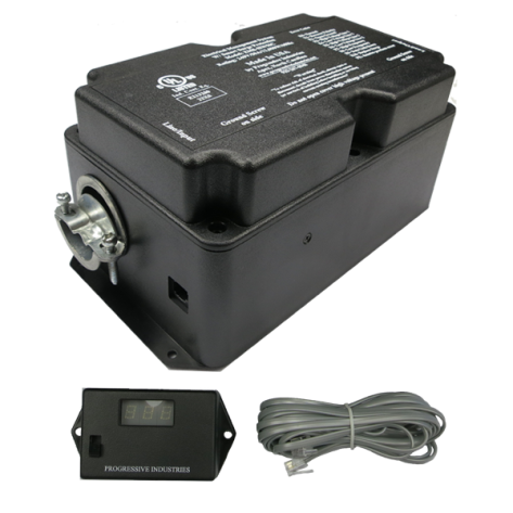 The Progressive Dynamics 50 amp, hard-wired electrical management system: EMS-HW50C
