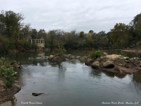 The Ocomulgee River at Amerson River Park, Macon, GA