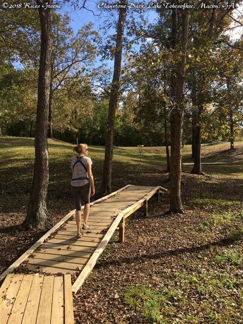 Hiking around at Claystone Park Campground.