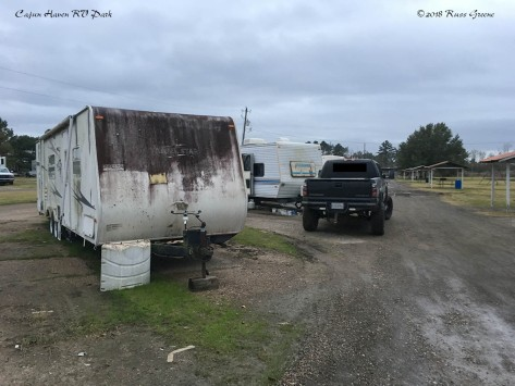 Cajun Haven: An RV that has Seen Better Days