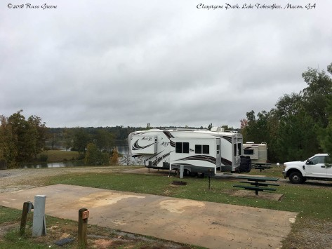 Sites 41 and 42, Claystone Park, Lake Tobesofkee, Macon, GA