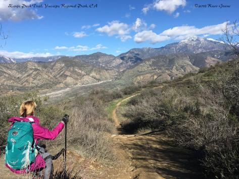 Along Zanja Peak Trail