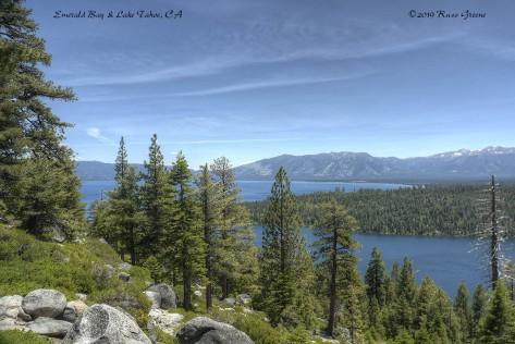 Emerald Bay and Lake Tahoe