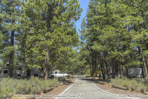 Sites 1 and 2, Alpine Meadows Campground