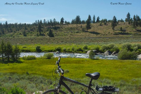 Along the Truckee River Legacy Trail