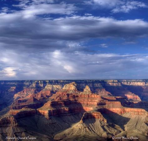 Grand Canyon, Sunset